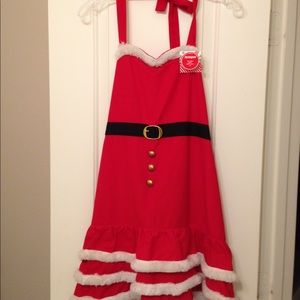 Mrs. Claus Holiday Apron